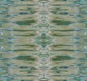 De abstracte onscherpe oppervlakte van de waterbezinning royalty-vrije stock fotografie