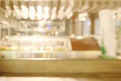 De abstracte onscherpe sushi verzetten tegenzich Royalty-vrije Stock Fotografie