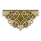De abstracte oosterse grafische Ornamenten van de mozaïek decoratieve kleurrijke Wereld royalty-vrije illustratie