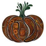 De abstracte patronen van de kleurenpompoen voor de herfst Stock Afbeelding