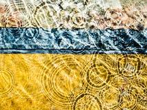 De abstracte plons van het Water Royalty-vrije Stock Fotografie