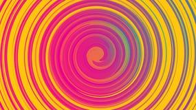 De abstracte purpere textuur, achtergrond van kosmische energieke magische mooie heldere multicolored bellenbellen omcirkelt lijn royalty-vrije illustratie