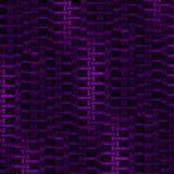 De abstracte purpere zwarte van het ritssluitingspatroon verticaal en dimensionaal Stock Afbeeldingen