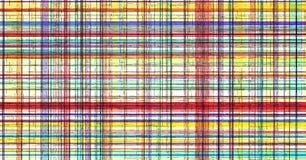 De abstracte rassenbarrière van plaidstrepen, stof vector illustratie