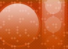 De abstracte Retro Achtergrond van de Cirkel royalty-vrije illustratie