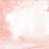 De abstracte rode achtergrond van de verfborstel met krastextuur Stock Afbeeldingen