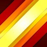 De abstracte rode en oranje achtergrond van driehoeksvormen Royalty-vrije Stock Foto's