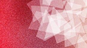 De abstracte rode en witte achtergrond stelde gestreepte patroon en blokken in diagonale lijnen met uitstekende blauwe rode en wi royalty-vrije stock fotografie