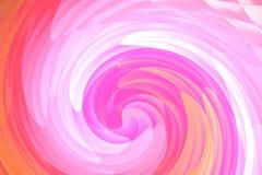 De abstracte roze en oranje achtergrond van het draaikolkpatroon Stock Foto's