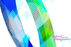 De abstracte scène van de kleurenvorm Stock Afbeelding