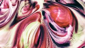 De abstracte schoonheid van de verf van de kunstinkt explodeert kleurrijke uitgespreide fantasie stock fotografie