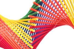 De abstracte Schroef van de Regenboog stock afbeeldingen