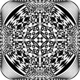 De abstracte Sferische Illusie van het Kader Veelvoudige Perspectief royalty-vrije illustratie