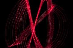 De abstracte stralen van de chaosbrand Stock Foto