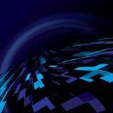 De abstracte technologische achtergrond van transmissiegolven Royalty-vrije Stock Afbeeldingen