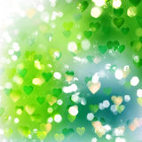 De abstracte textuur van de de lentekoorts Stock Afbeelding