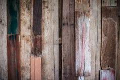 De abstracte textuur van de grunge houten verf Stock Fotografie