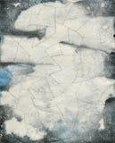 De abstracte textuur van de grungewaterverf Stock Afbeeldingen