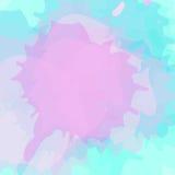 De abstracte textuur van de waterverfverf Stock Fotografie