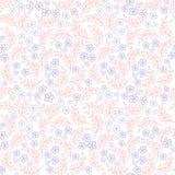 De abstracte Textuur van de wervelingsbloem Stock Afbeelding