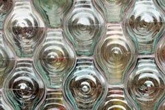 De abstracte Textuur van het Glas Stock Foto's