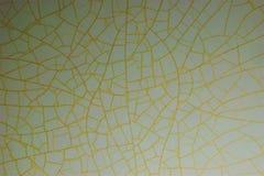 De abstracte textuur van de oude gebarsten tegelmuur, heel wat barsten vormt een natuurlijk uniek patroon, met succes toepasselij stock foto