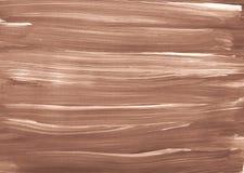 De abstracte textuur witte bruine Sepia borstel van de de illustratieverf van het achtergrondkunstontwerp royalty-vrije illustratie