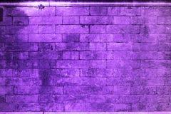 De abstracte ultraviolette muur van het achtergrondtextuurcement Stock Fotografie