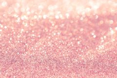 De abstracte vakantie van achtergrond roze lichte bokehkerstmis royalty-vrije stock foto's