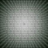 De abstracte van de cijfers grayscale lijnen van de mysticus binaire code achtergrond eps10 royalty-vrije illustratie