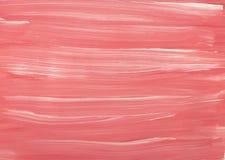 De abstracte van het van het achtergrond textuur witte roze roomijs borstel van de de illustratieverf kunstontwerp vector illustratie