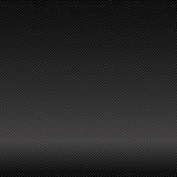 De abstracte vector van de achtergrond donkere en zwarte koolstofvezel illustrat royalty-vrije illustratie