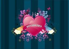 De abstracte vector van de banner Stock Foto