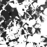 De abstracte vector van de inkt grunge textuur Stock Afbeelding