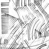 De abstracte vector van de inkt grunge textuur Stock Foto's