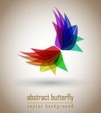 De abstracte vector van de Vlinder Royalty-vrije Stock Foto's