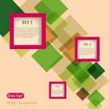 De abstracte vector van het Webontwerp Stock Foto