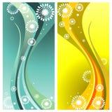 De abstracte vector van krommen royalty-vrije illustratie