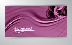 De abstracte vector vectorachtergrond van de achtergrondluxedoek Royalty-vrije Stock Foto