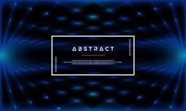 De abstracte vectorachtergrond, vat Futuristische achtergrond samen royalty-vrije illustratie
