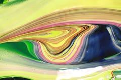 De abstracte verf kleurt achtergrond Stock Afbeeldingen