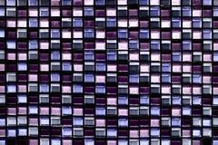 De abstracte vierkante achtergrond en de textuur van het pixelmozaïek Royalty-vrije Stock Afbeelding