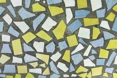 De abstracte vierkante achtergrond van het pixelmozaïek Royalty-vrije Stock Foto's
