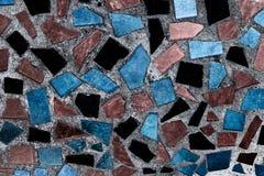 De abstracte vierkante achtergrond van het pixelmozaïek Stock Foto's