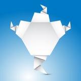 De abstracte Vorm van de Origami Stock Fotografie