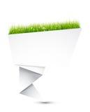 De abstracte Vorm van de Origami Royalty-vrije Stock Foto