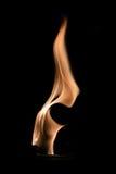 De abstracte vormen van de brandvlam Stock Foto