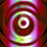 de abstracte werveling van de kleurencirkel royalty-vrije illustratie