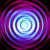 de abstracte werveling van de kleurencirkel stock illustratie