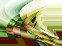 De abstractie van de kleur vector illustratie